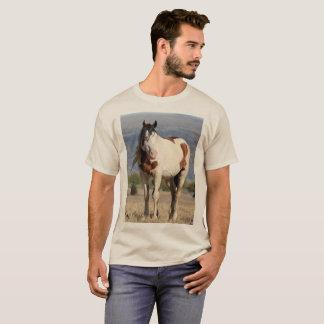 T-shirt Mustang, sauvage, chaman, goujon, Orégon du