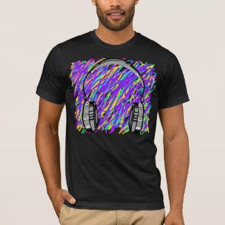 T-shirt muzik d'écouteur