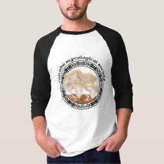 T-shirt mycologique de hérisson de société de