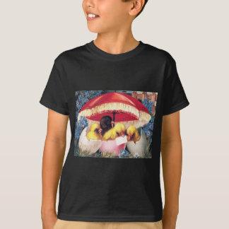 T-shirt Myosotis d'oeufs de poussin de Pâques