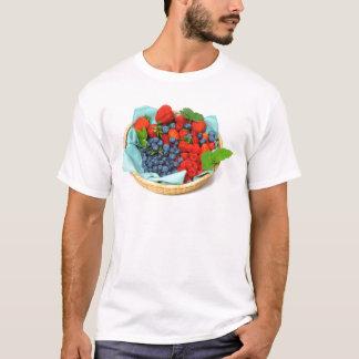T-shirt Myrtilles et framboises de fraises