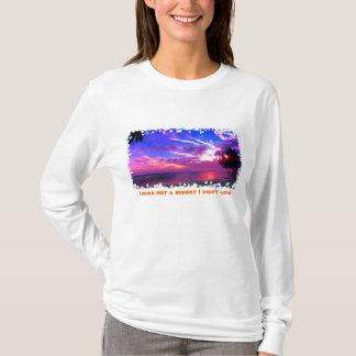 T-shirt N'a jamais rencontré un coucher du soleil que je