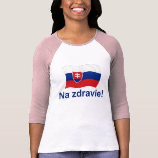 T-shirt Na slovaque Zdravie ! (À votre santé !)