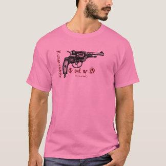 T-shirt nagant de graphique de revolver de