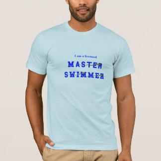 T-shirt Nageur principal