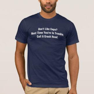 T-shirt N'aimez pas les cannettes de fil ? Appelez une