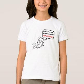 T-shirt N'aimez pas les enfants dans les restaurants ?