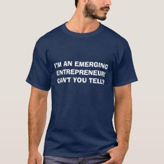 T-shirt naissant d'entrepreneur