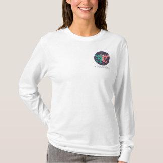 T-shirt nano de douille de Hanes long