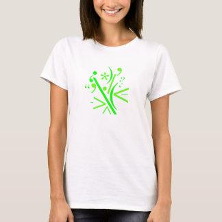 T-shirt nano de Hanes des femmes, blanc