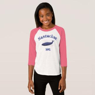 T-shirt Nantucket, baleine, chemise 1641 pour des filles