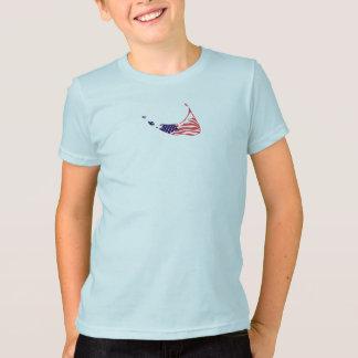 T-shirt Nantucket mA - Conception de carte
