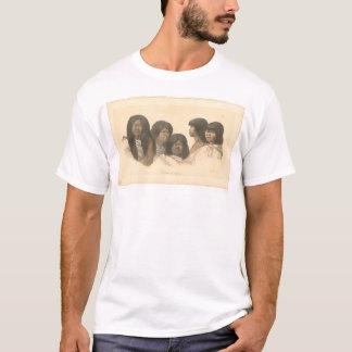 T-shirt Natifs américains de la Californie (0685A)