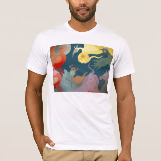 T-shirt ** Nature II ** séries précolombiennes de bruit **