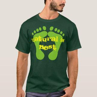 T-shirt naturel est le meilleur
