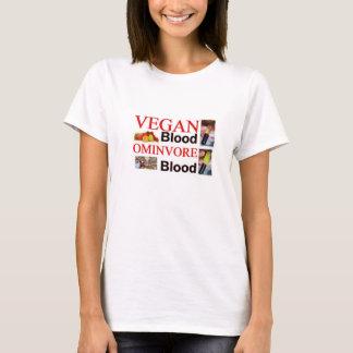 """T-shirt """"Naturellement je suis végétalien """""""
