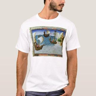 T-shirt Navigateurs à l'aide d'un astrolabe