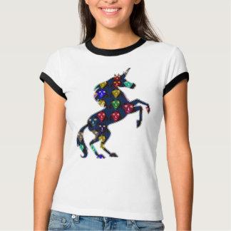 T-shirt navinJOSHI peint NVN100 de conte de fées de cheval