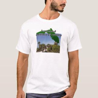 T-shirt Ne détestez pas l'hiver dans la vie de plage de la