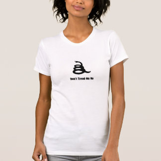 T-shirt Ne marchez pas sur moi