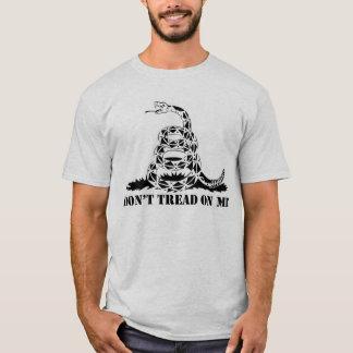 """T-shirt """"Ne marchez pas sur moi"""" droit de soutenir le"""