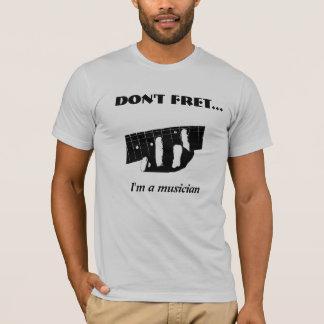 T-shirt Ne me rongez pas… suis un musicien