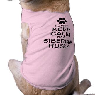 T-shirt Ne peut pas garder le chien calme de chien de