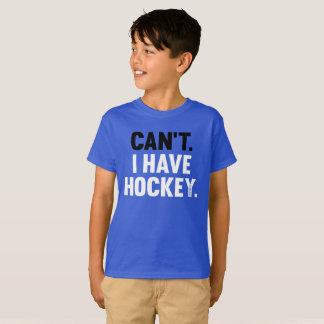 T-shirt Ne peux pas j'avoir la grande jeunesse drôle