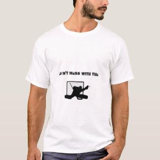 T-shirt Ne salissez pas avec le gardien de but