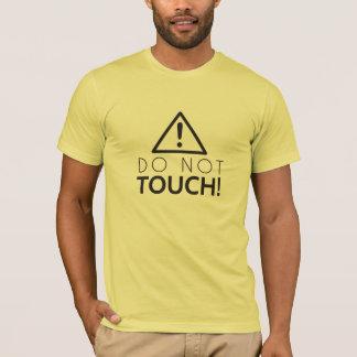 T-shirt Ne touchez pas
