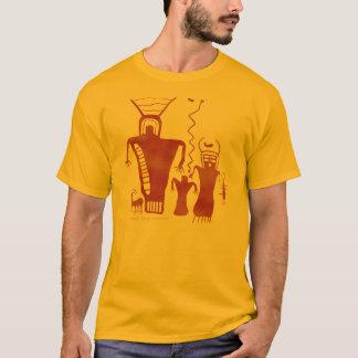 T-shirt Neuf aliens d'art de roche de canyon de mille '