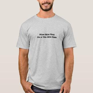 T-shirt Neuf milles SkidOn un tour de Dix milles