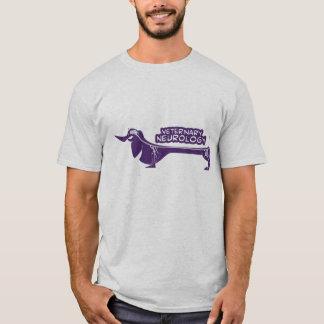 T-shirt Neurologie vétérinaire (teckel)
