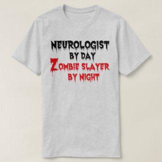 T-shirt Neurologue par le tueur de zombi de jour par nuit
