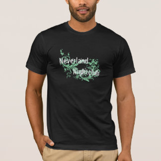 T-shirt Neverland des hommes - T foncé