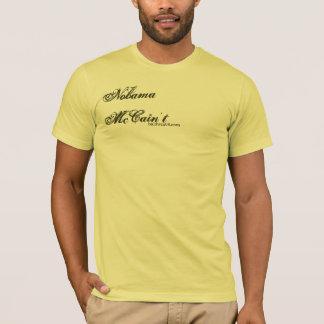 T-shirt Nobama | McCain't : Renflouement