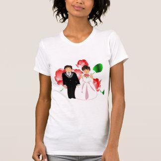 """T-shirt Noce I """"domestique d'honneur"""" T-Chemise-Customisé"""
