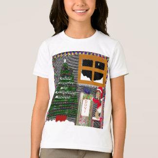 T-shirt Noël Babyposter1, joyeux, Noël, et,…