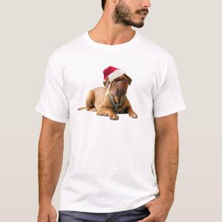 T-shirt Noël Bordeauxdog