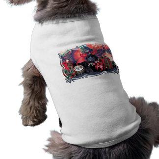 T-shirt Noël - calcinateur - caniche