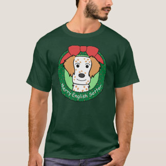 T-shirt Noël de poseur anglais