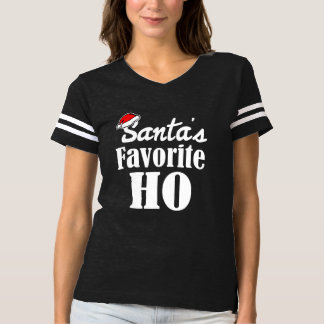 T-shirt Noël drôle du favori de Père Noël Ho indiquant les