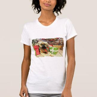 T-shirt Noël - griffon de Bruxelles - Andrews