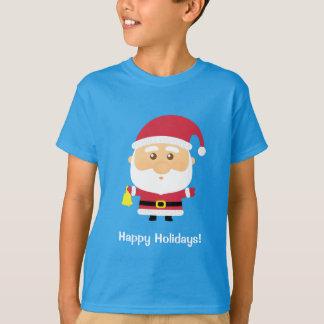 T-shirt Noël mignon du père noël pour des enfants