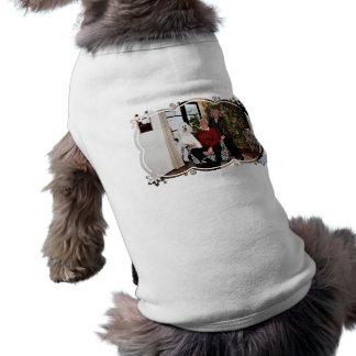 T-shirt Noël - Valjean - caniche