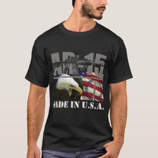 T-shirt Noir de chemise d'AR-15 Etats-Unis