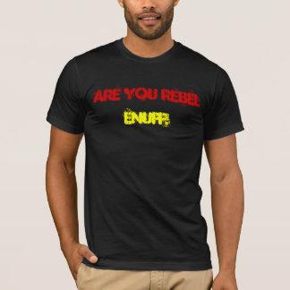 T-shirt noir de ciel de Jah