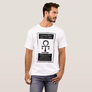 T-shirt Noir de Krishnas son Linga DE X/Y