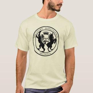 T-shirt Noir de logo du service MI6 secret