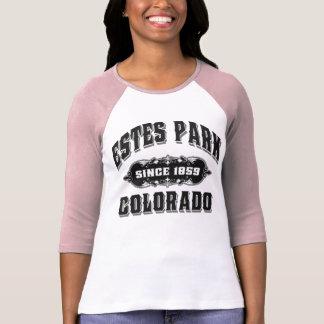 T-shirt Noir de parc d'Estes depuis 1859